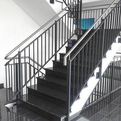 Edehlstahltreppe Büro