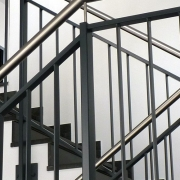 Treppengeländer Ärztehaus