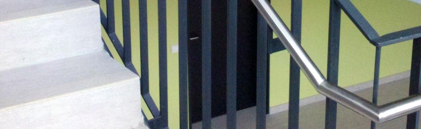 Treppengeländer Wohnhaus
