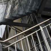 SMS Stahl- & Metallbau Seligenstadt Fluchttreppe
