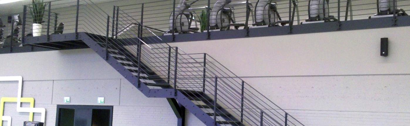 Treppe Fitnessstudio