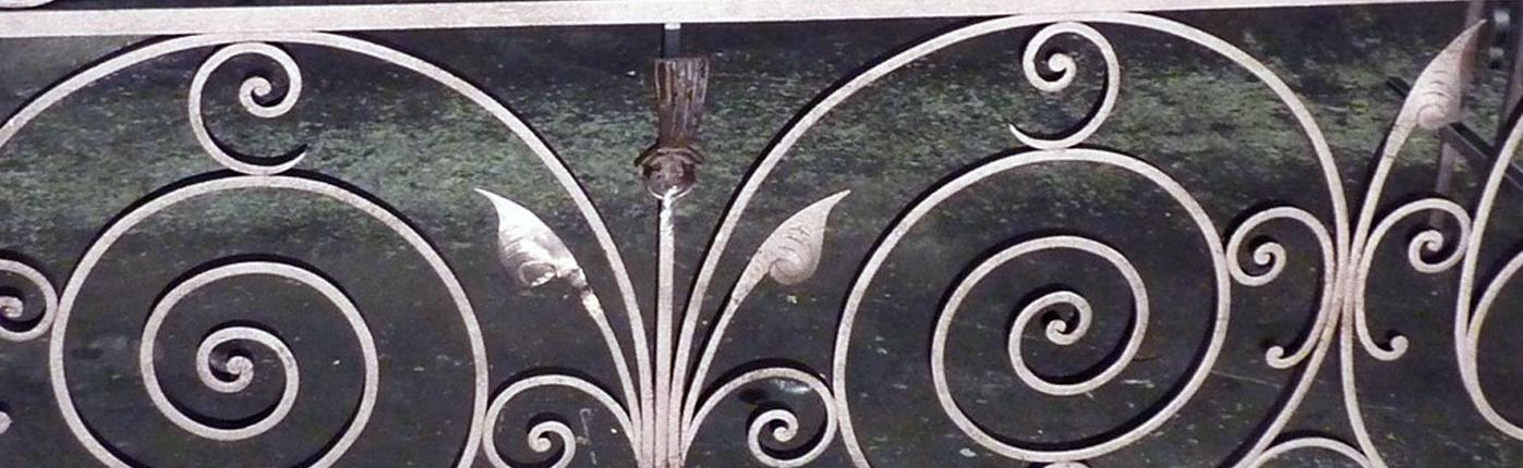 Stahldekor Balkon